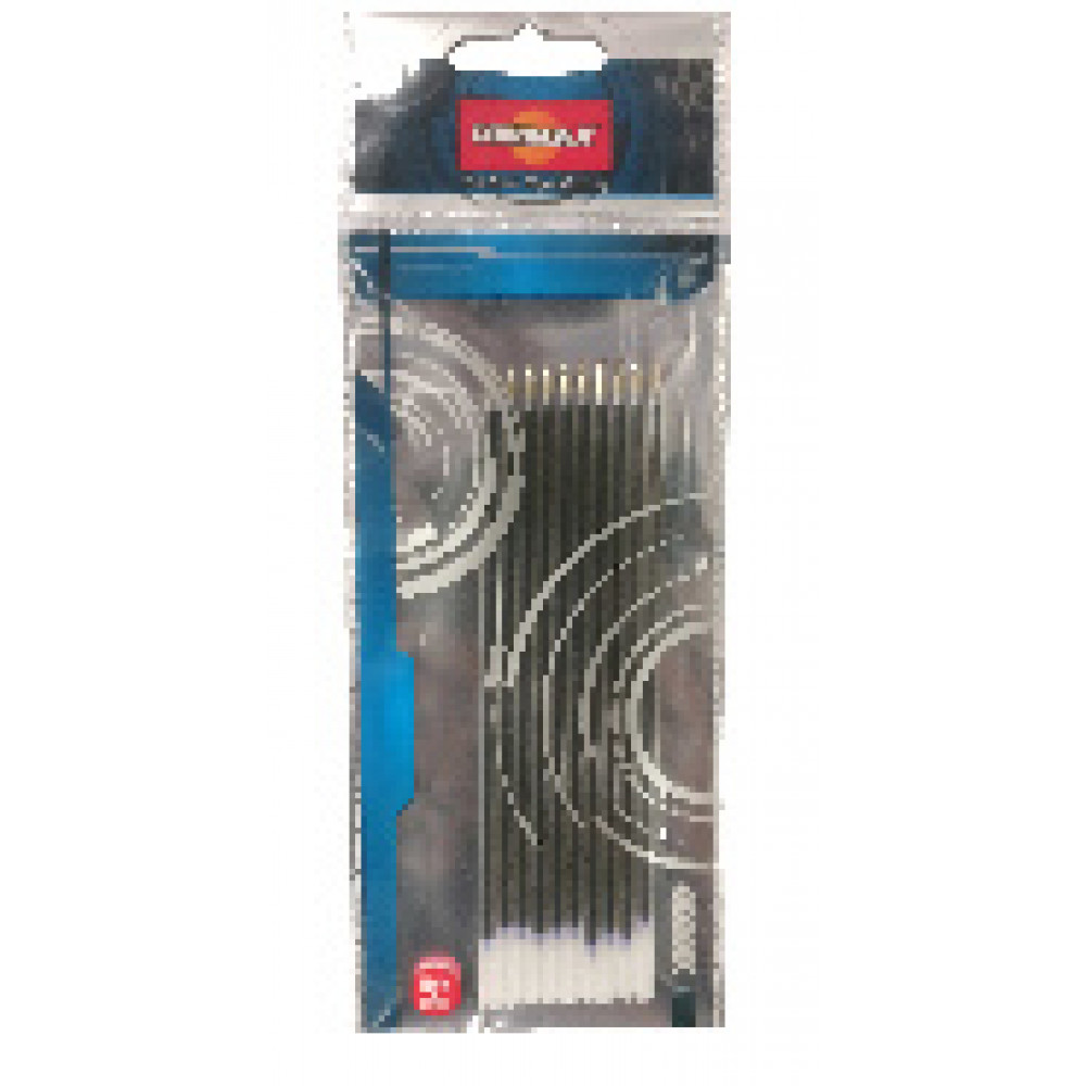 Стержень гелев. 128 мм, Unimax, для 722473, 722472, чёрный, 0,3 мм, 10шт/уп