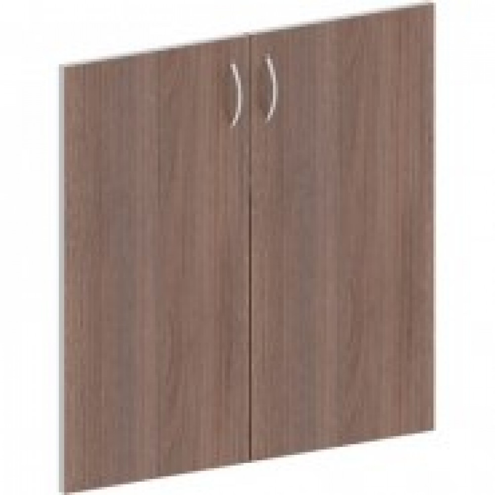 Мебель Easy St Двери низк. ЛДСП (2шт.) 904007 т.дуб/сер.(560)