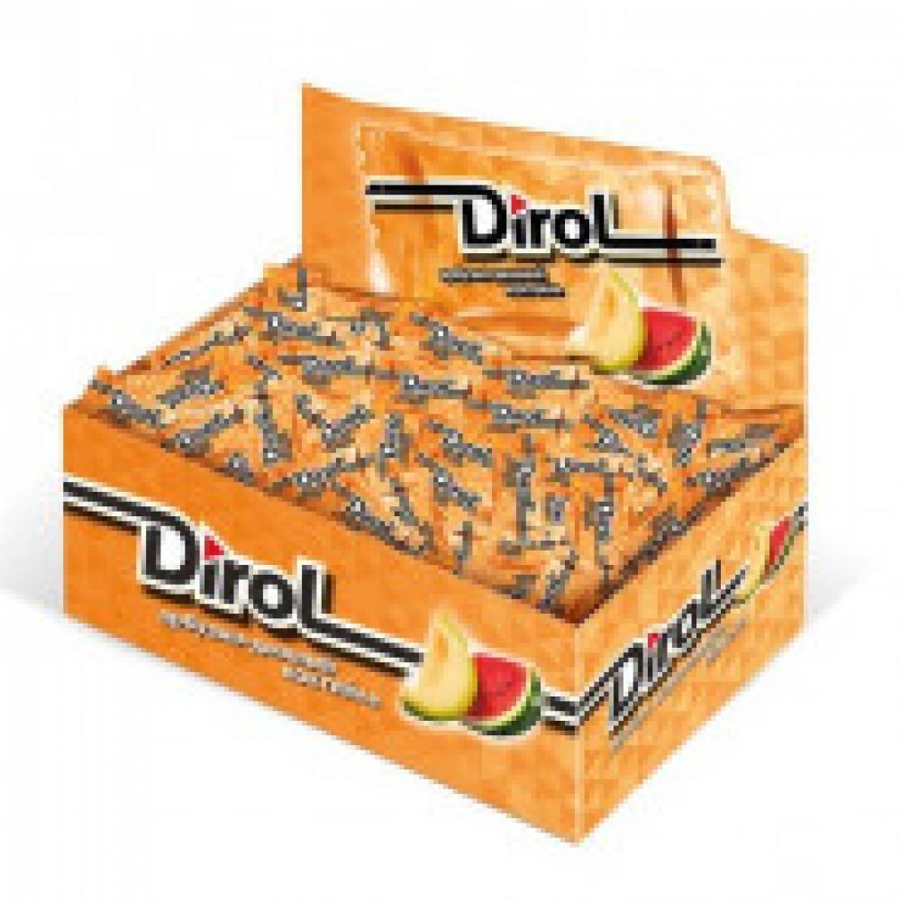 Жевательная резинка DIROL Арбузно-Дынный Коктейль 272г