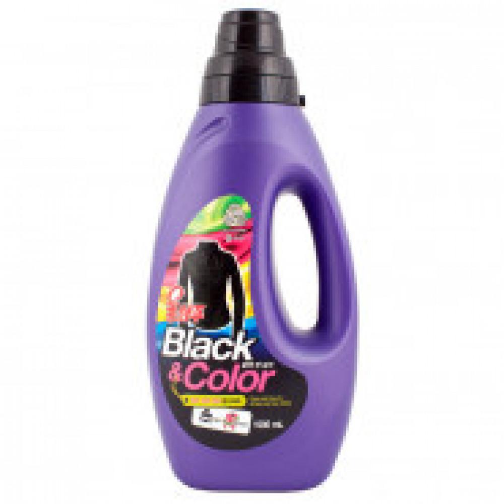 Жидкость для стирки Wool Shampoo Black&Color для черного/цветного белья1л