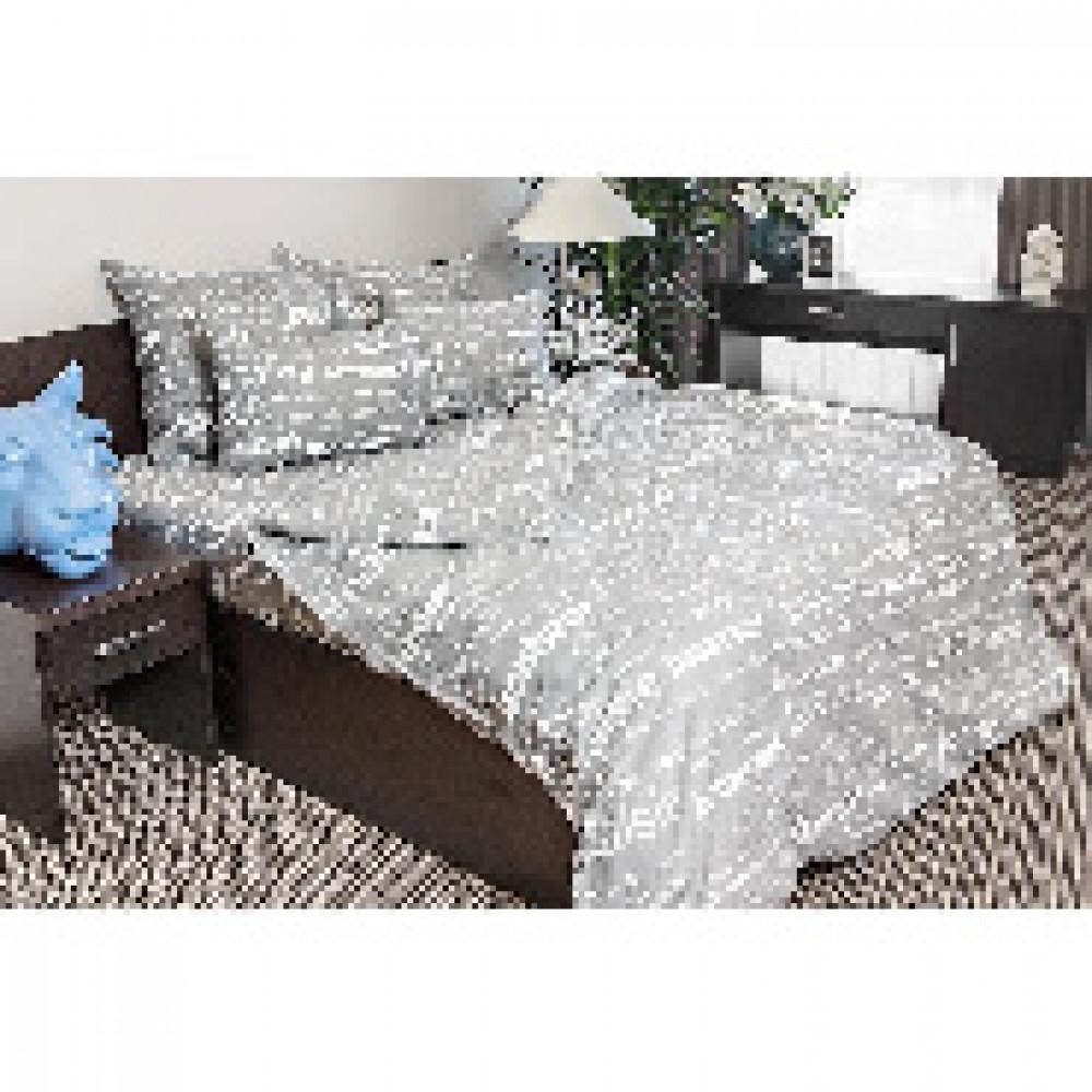 Комплект постельного белья 1,5 сп бязь 120гр/м2 Письма