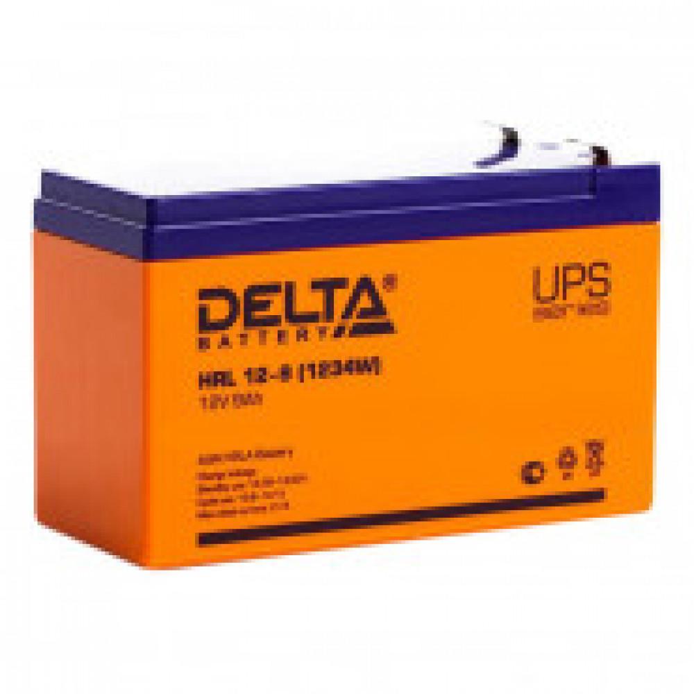 Аккумуляторная батарея Delta HRL 12-9/12-9X