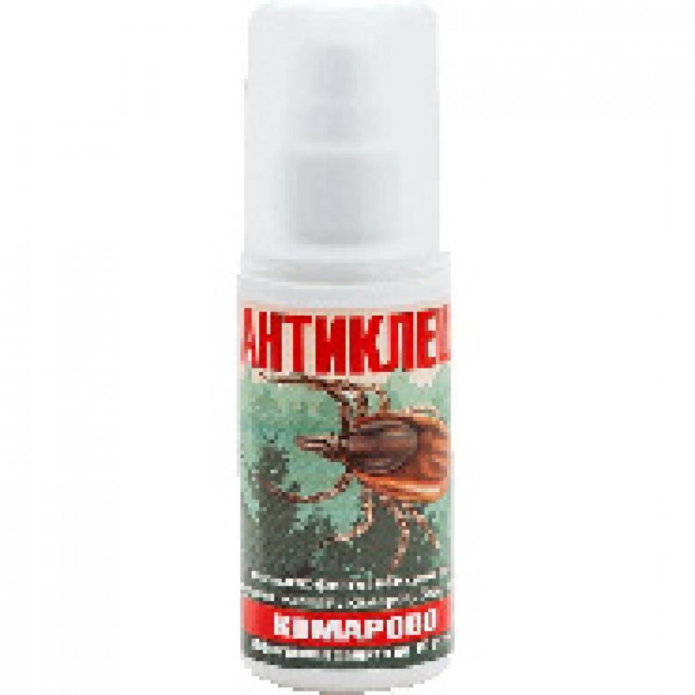 Средства от насекомых Комарово Антиклещ КАСФ50 спрей 50мл