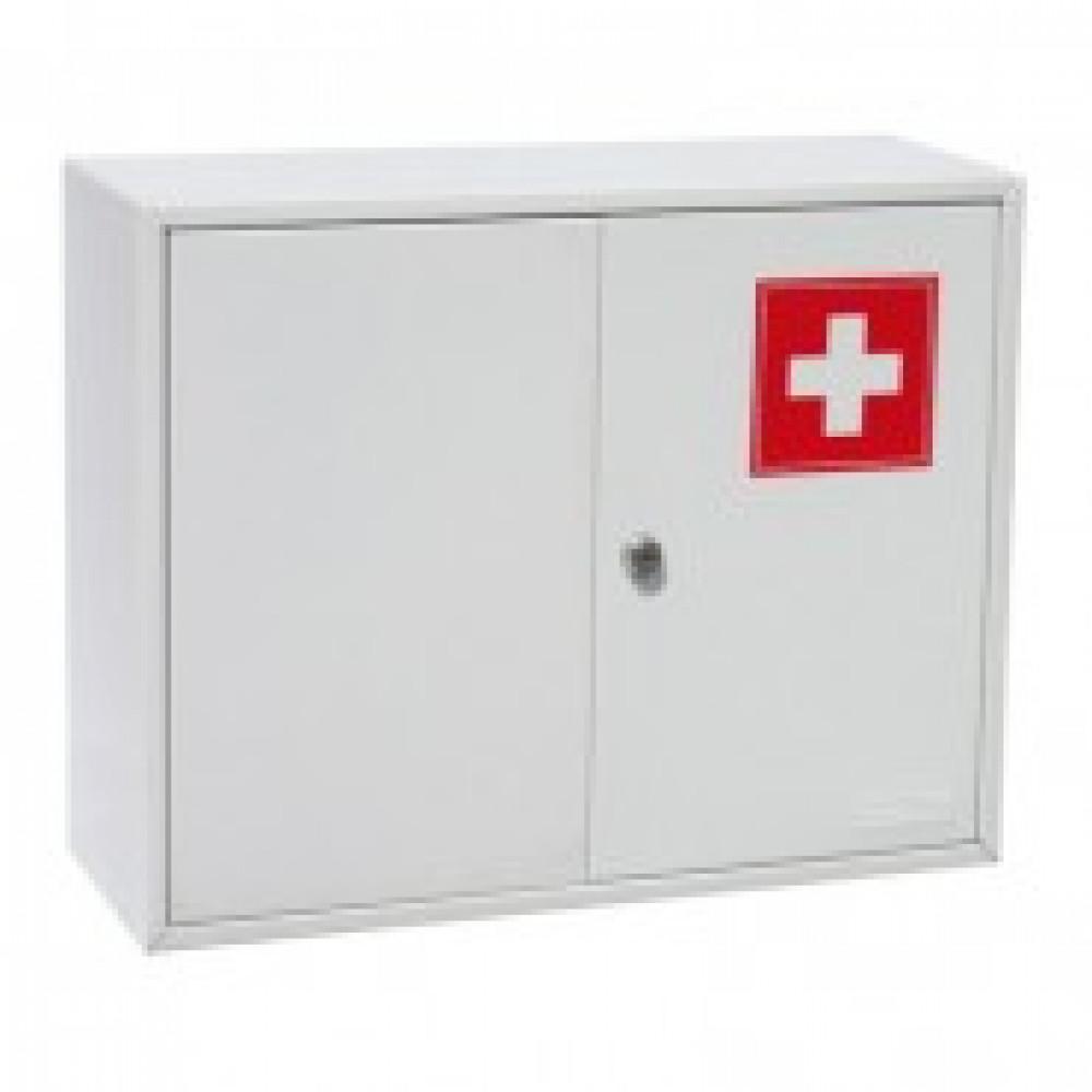 Аптечка металлическая Office-Force 20098, 2 двери,450х150х360