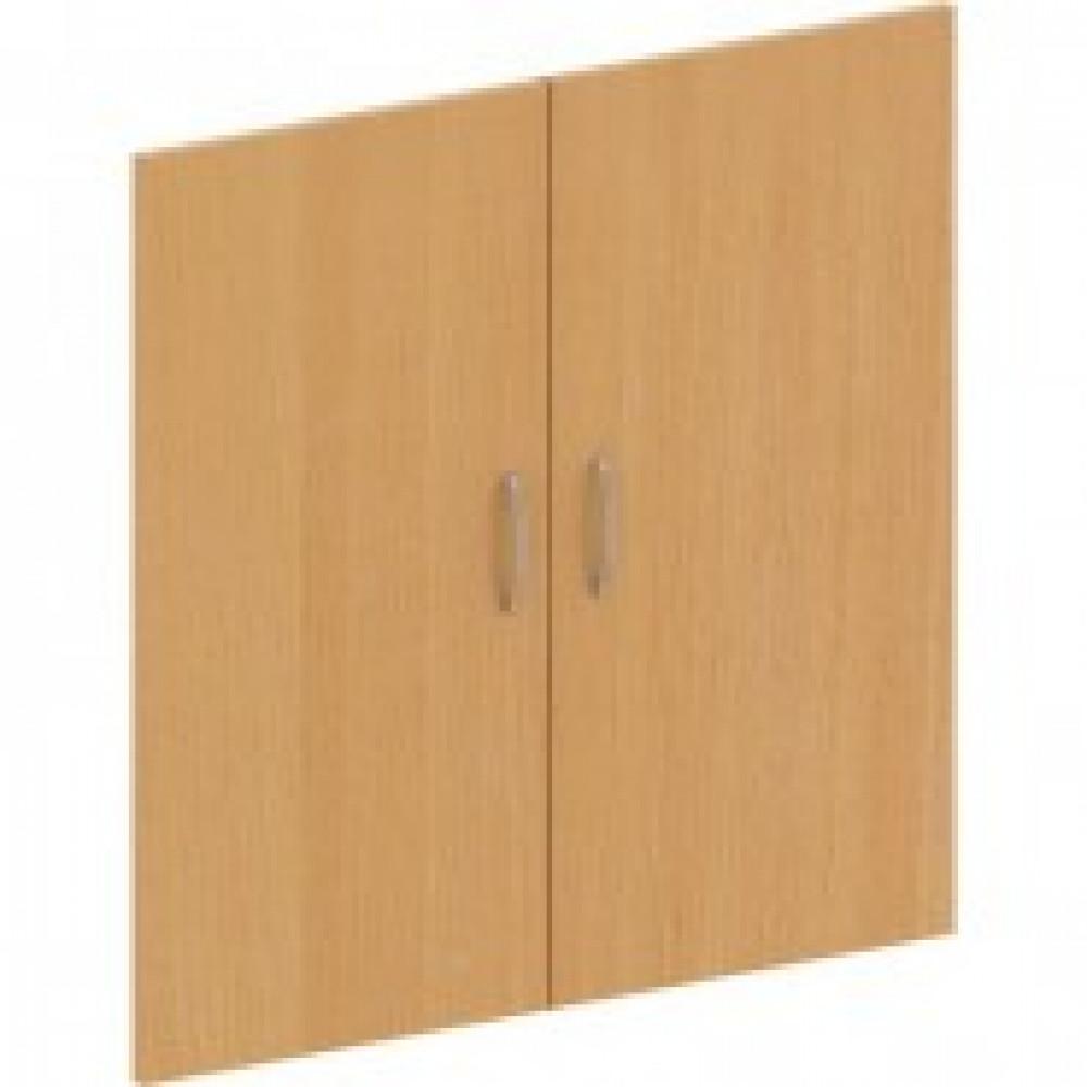 Двери низкие Эталон (2 штуки, ЛДСП, высота 806 мм, бук бавария)