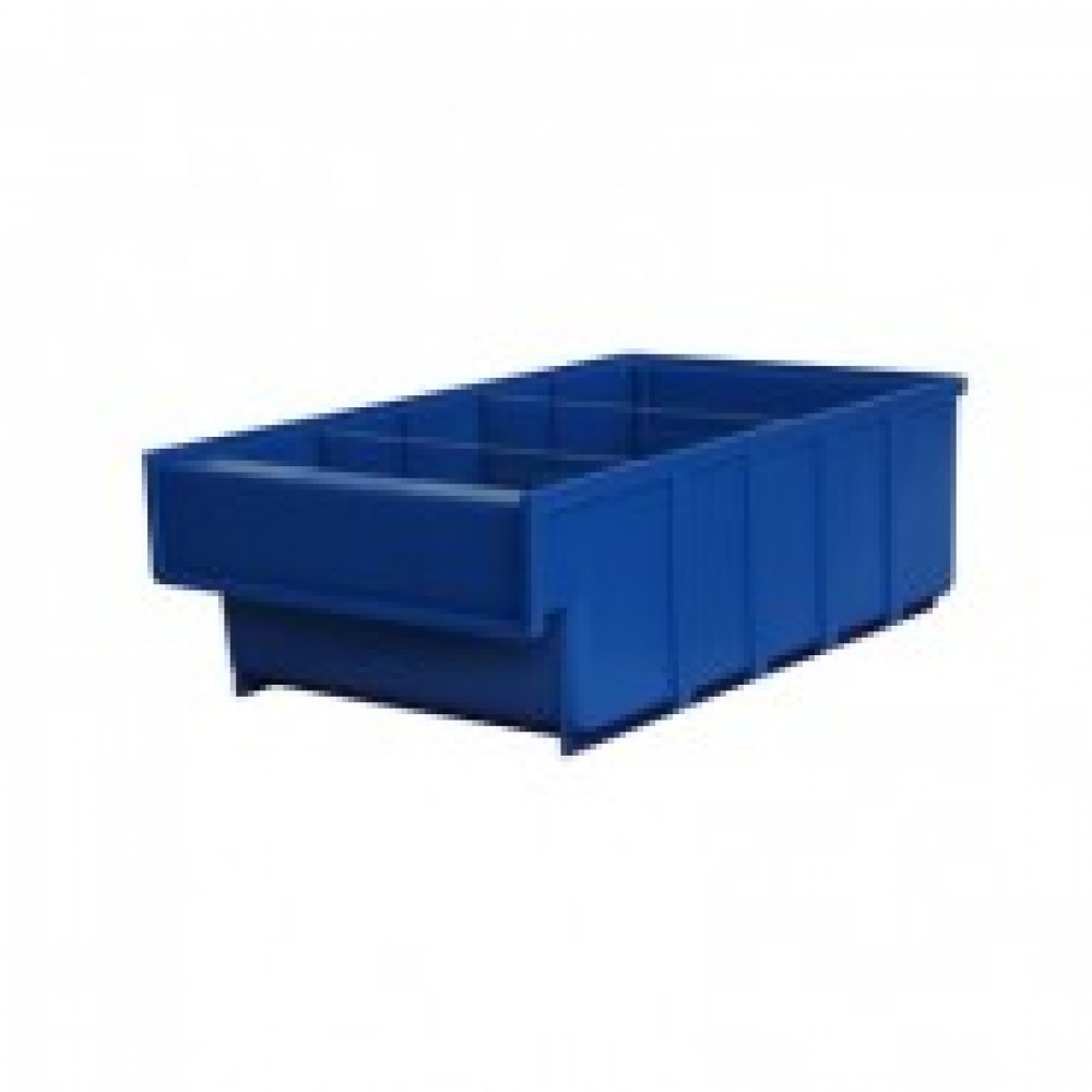 Метал.Мебель D_Ящик пластиковый Серия Б синий 185х300х100