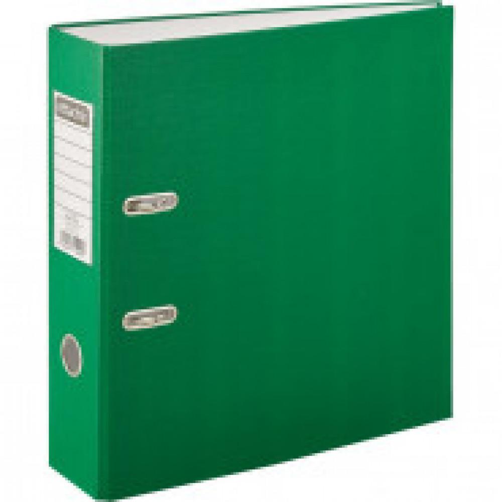 Папка регистратор с арочн.мех.Attache Экономи 80 мм,зеленый