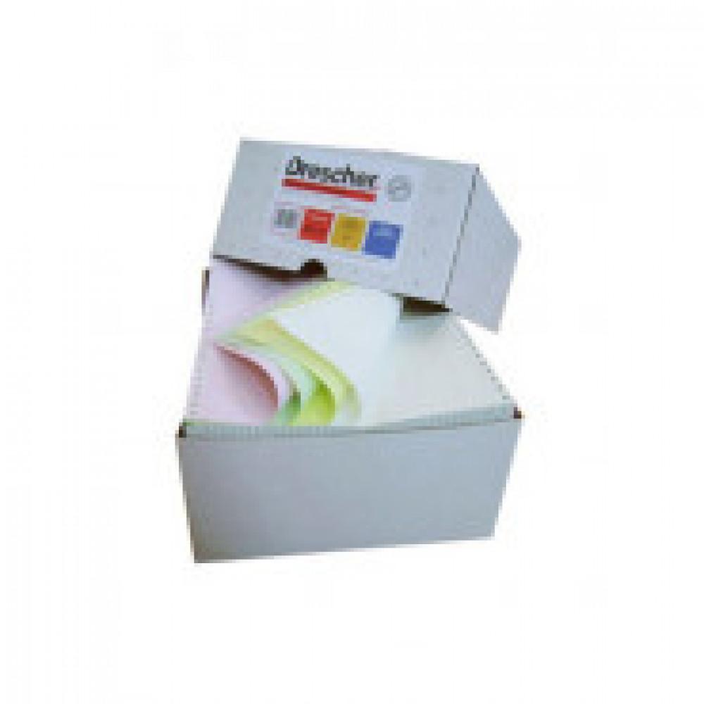 Самокоп.непрер.компьютерная бумага 240х12, 3-сл.Drescher,цвет,600экз/уп