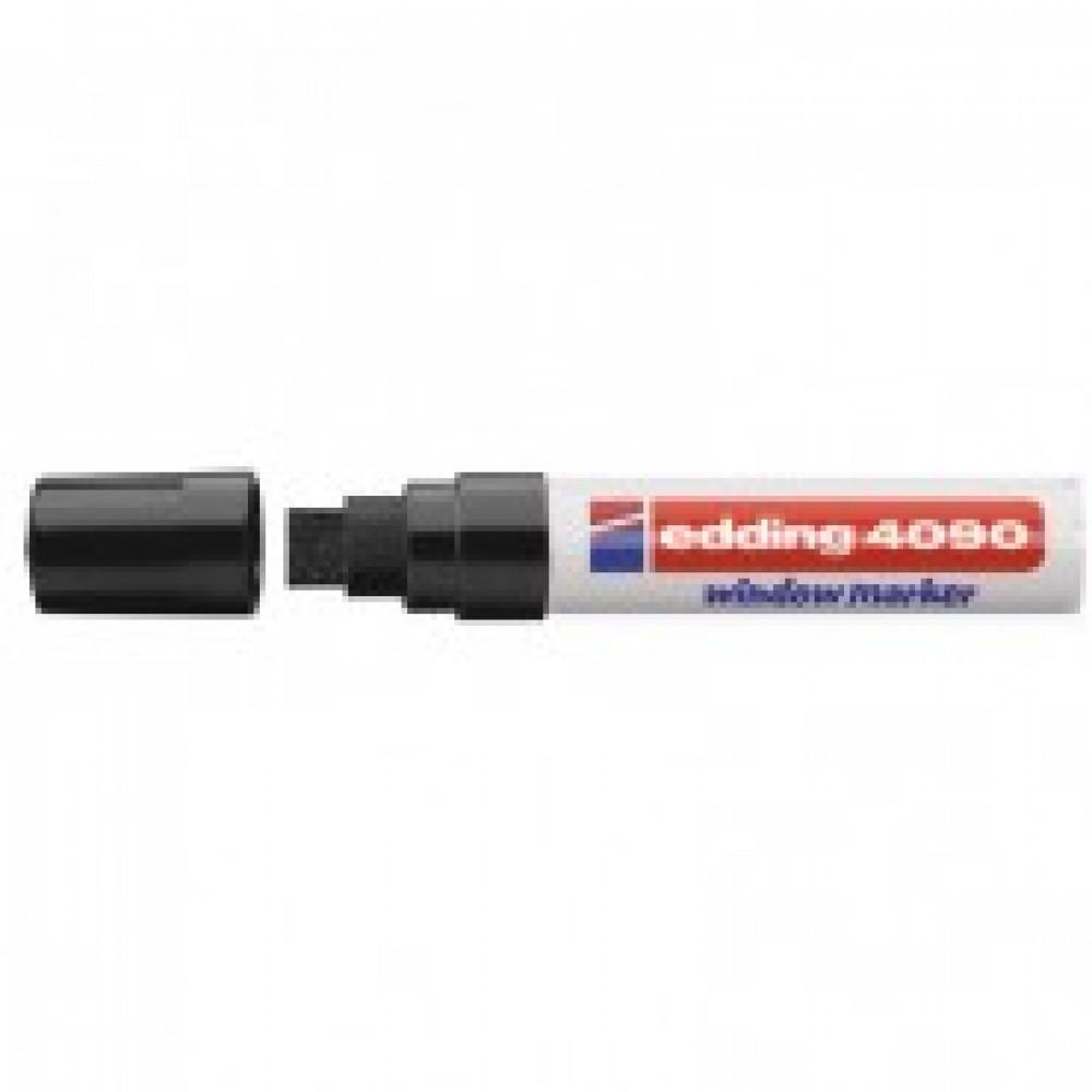 Маркер для окон EDDING E-4090/001 4-15мм (декоративный) черн.