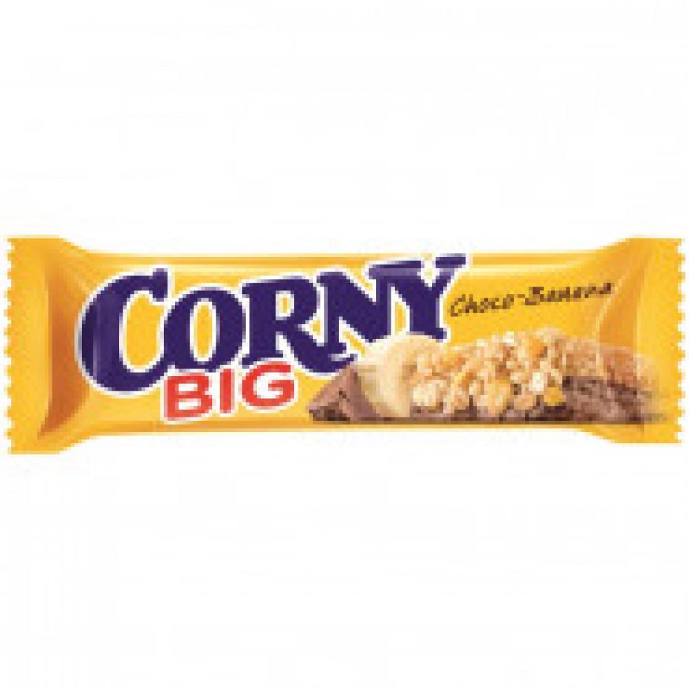 Батончик мюсли Corny Big банан с молочным шоколадом 50 г
