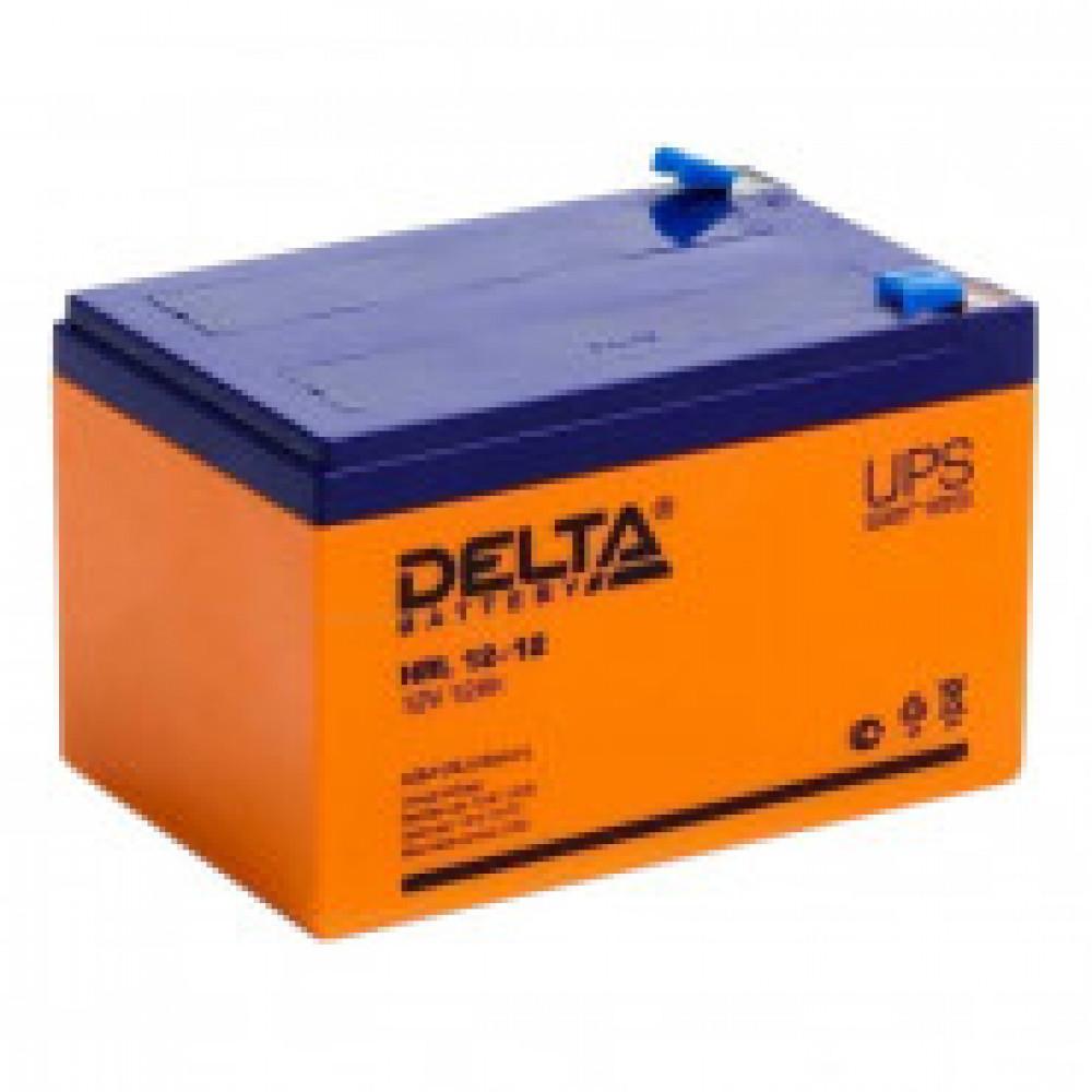 Аккумуляторная батарея Delta HRL 12-12 (12V/12Ah)_D_K