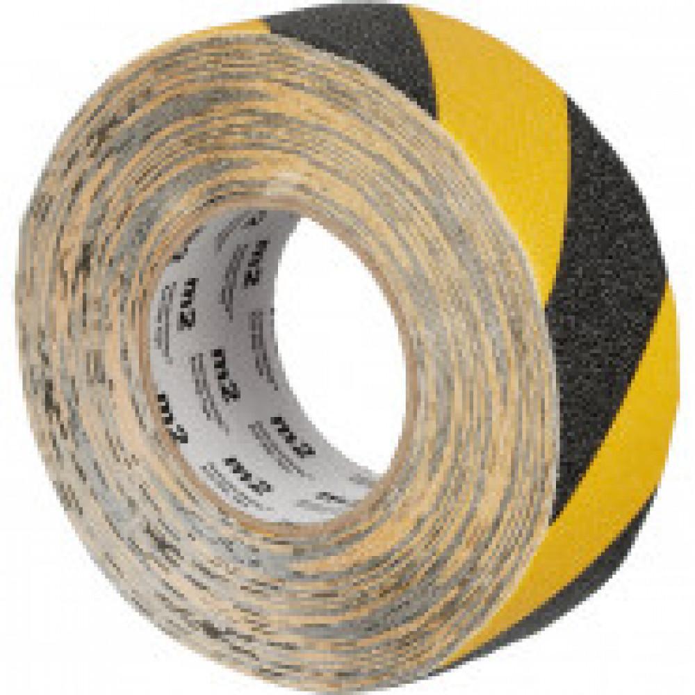 Лента противоскользящая 50мм х 18,3м желто-черная (M1WR050183)
