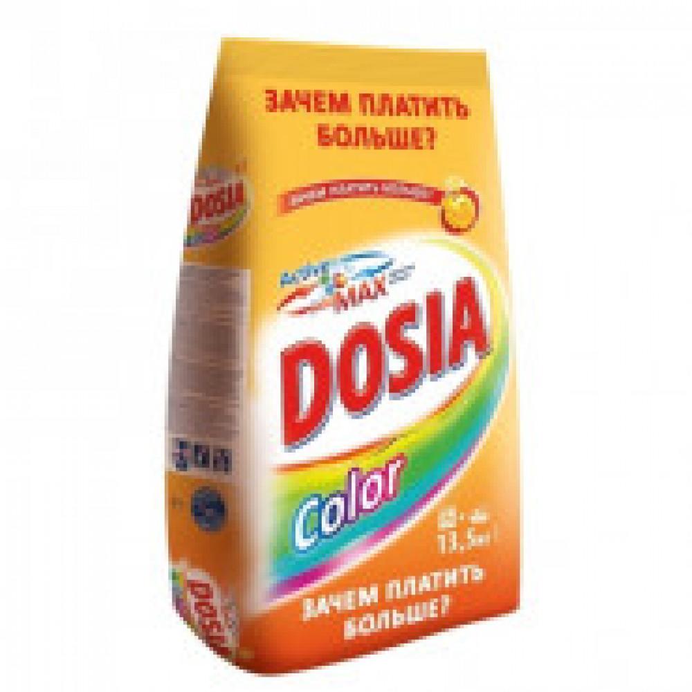 Порошок стиральный DOSIA автомат Color 13,5 кг