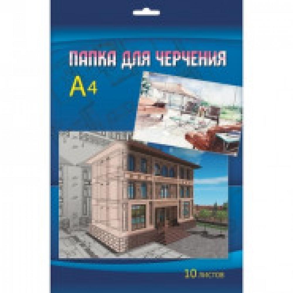Папка для черчения 10л,А4 Макет дворца С0009-11