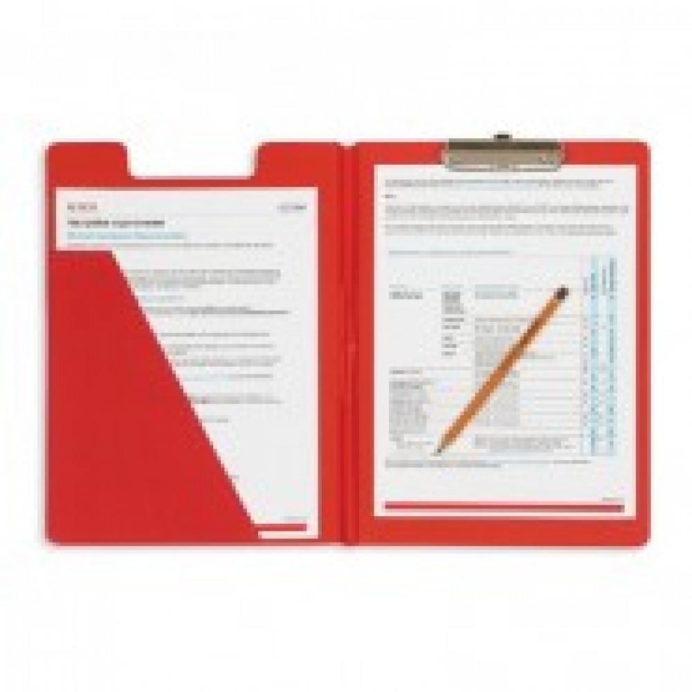 Планшет BANTEX 4210-09 A4 красный с верх.створкой Россия