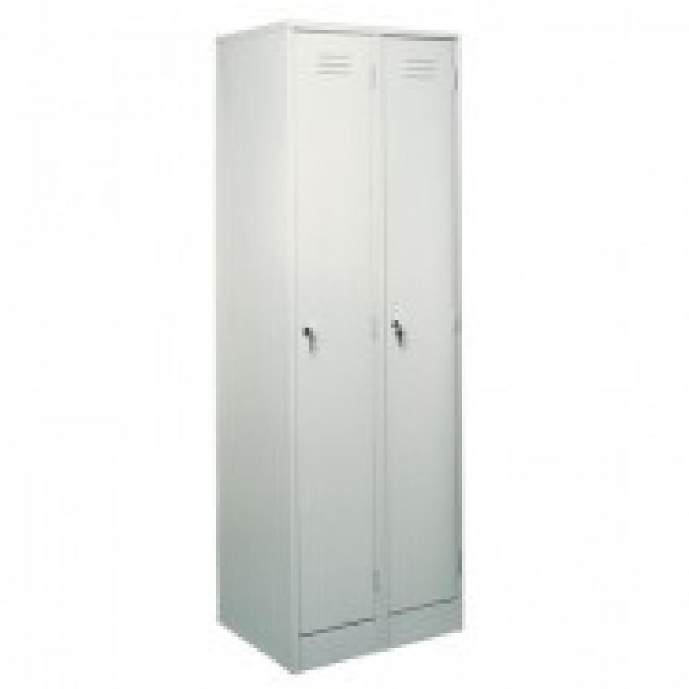Метал.Мебель P_ШРМ22М шкаф д/одежды 2 дв. 600х500х1860