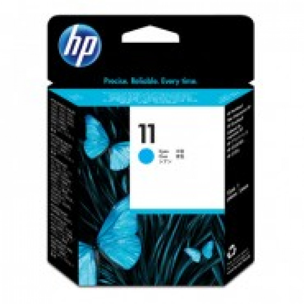 Головка печатающая HP 11 C4811A голубая