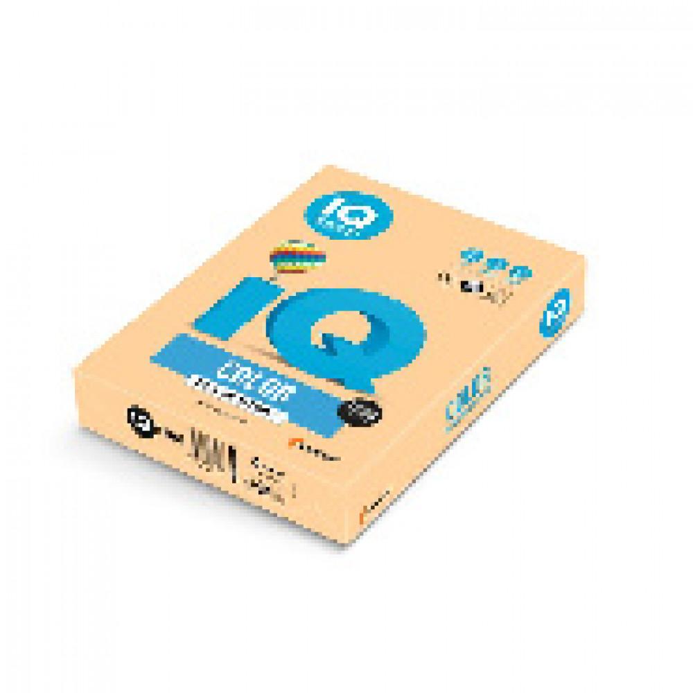 Бумага цветная IQ COLOR (А4,160г,GO22-золотистый) пачка 250л.