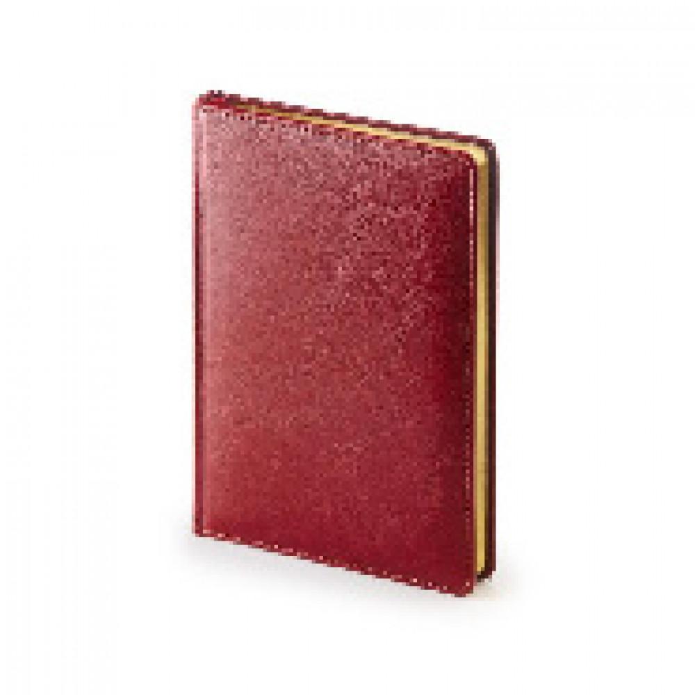 Ежедневник датированный 2020, А5+, 136л, SIDNEY NEBRASKA,бордовый, 3-125/01