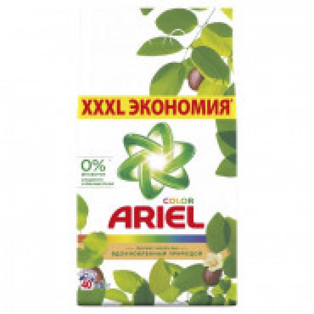 Порошок стиральный Ariel Аромат Масла ши автомат 6кг д/цветного белья