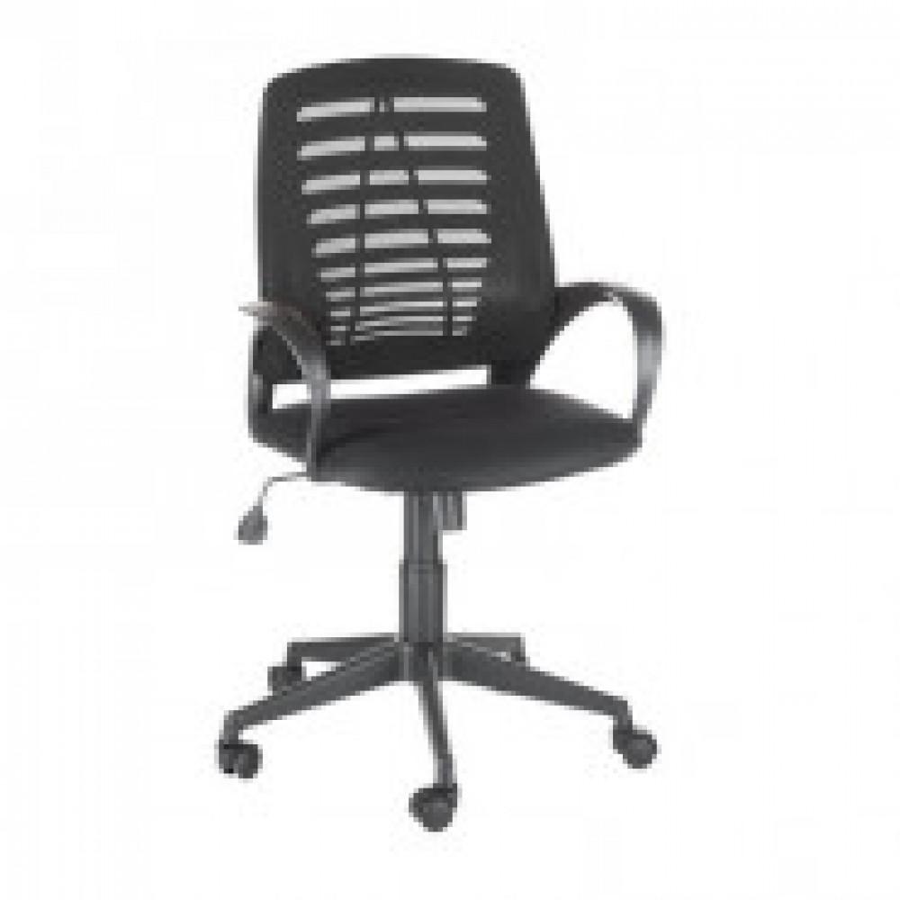 Кресло OL_Ирис сиденье черное TW/спинка черная TW