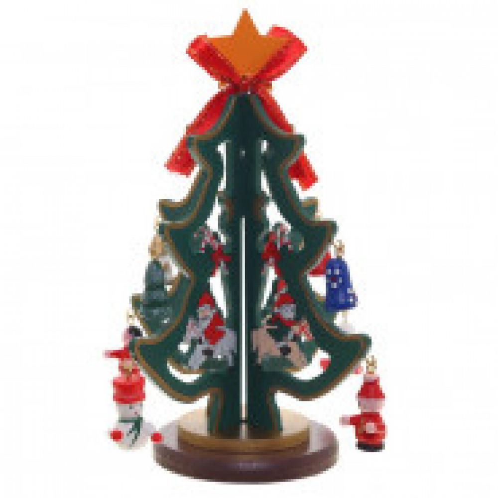 Новогоднее украшение Эко Ёлка с игрушками, 239527