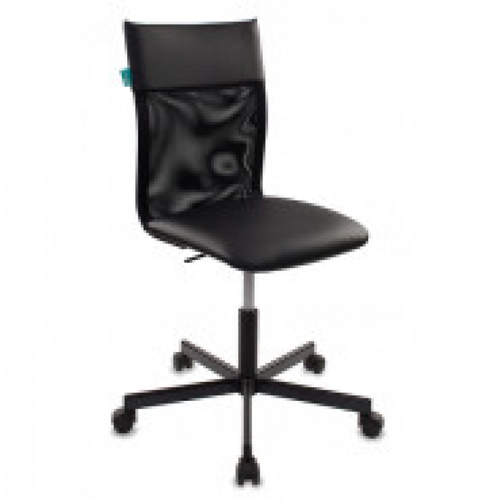 Кресло VB_Бюрократ CH-1399 BLACK кз черный, сетка черная, металл