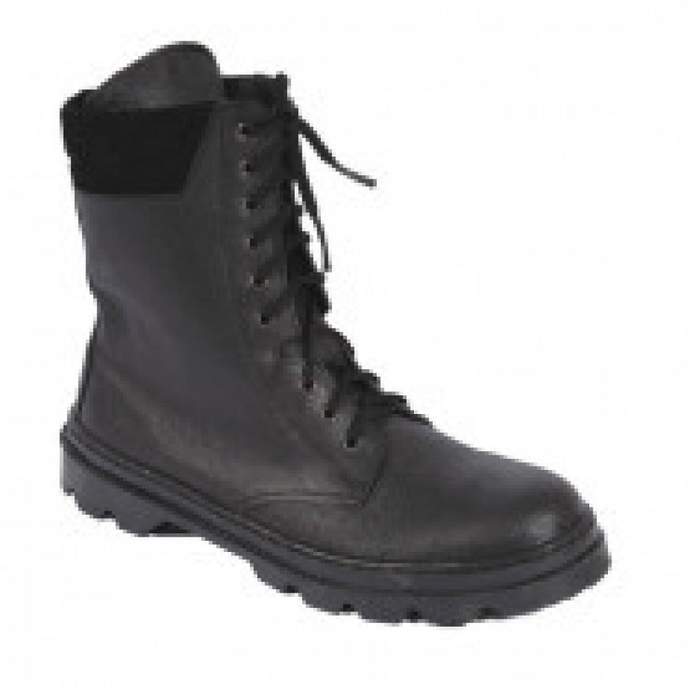 Ботинки  ОМОН  с высоким берцем юфтевые (р.40)