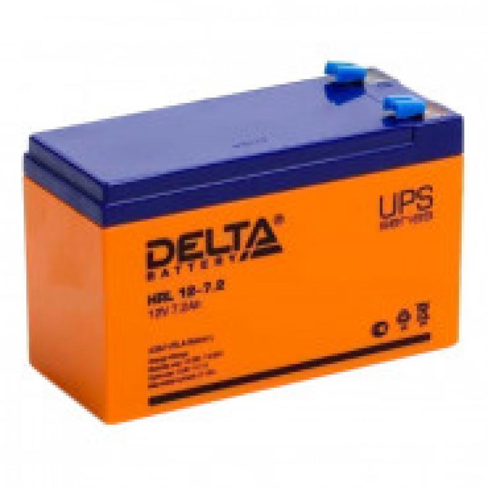 Аккумуляторная батарея Delta HRL 12-7,2 (12V/7,2Ah)