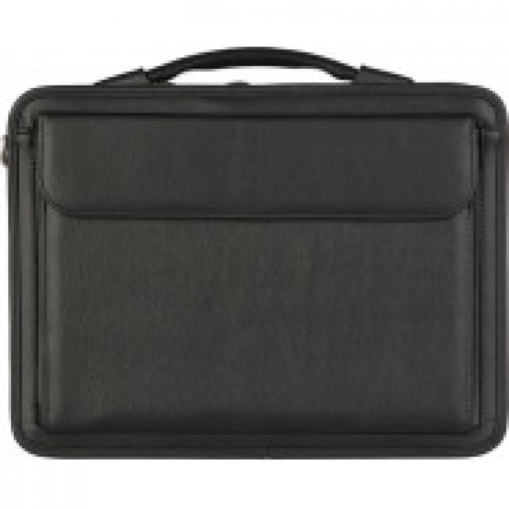 Портфель САММИТ 894 имп.кож/зам, черный 36х27