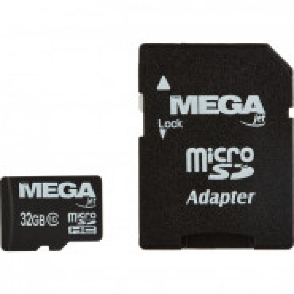 Карта памяти Promega jet microSDHC 32GB Class10+адаптер