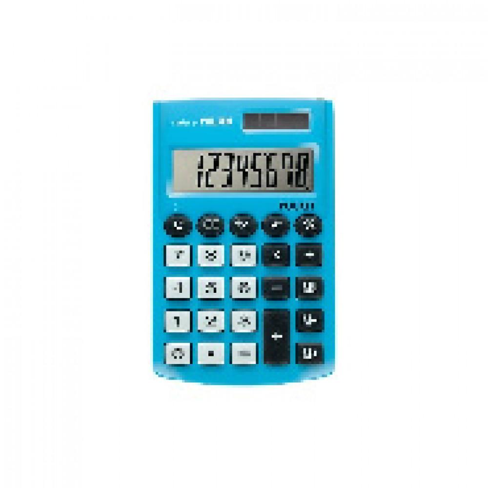 Калькулятор Milan 8-разряд, в чехле, двойное питание, голубой 150908BBL