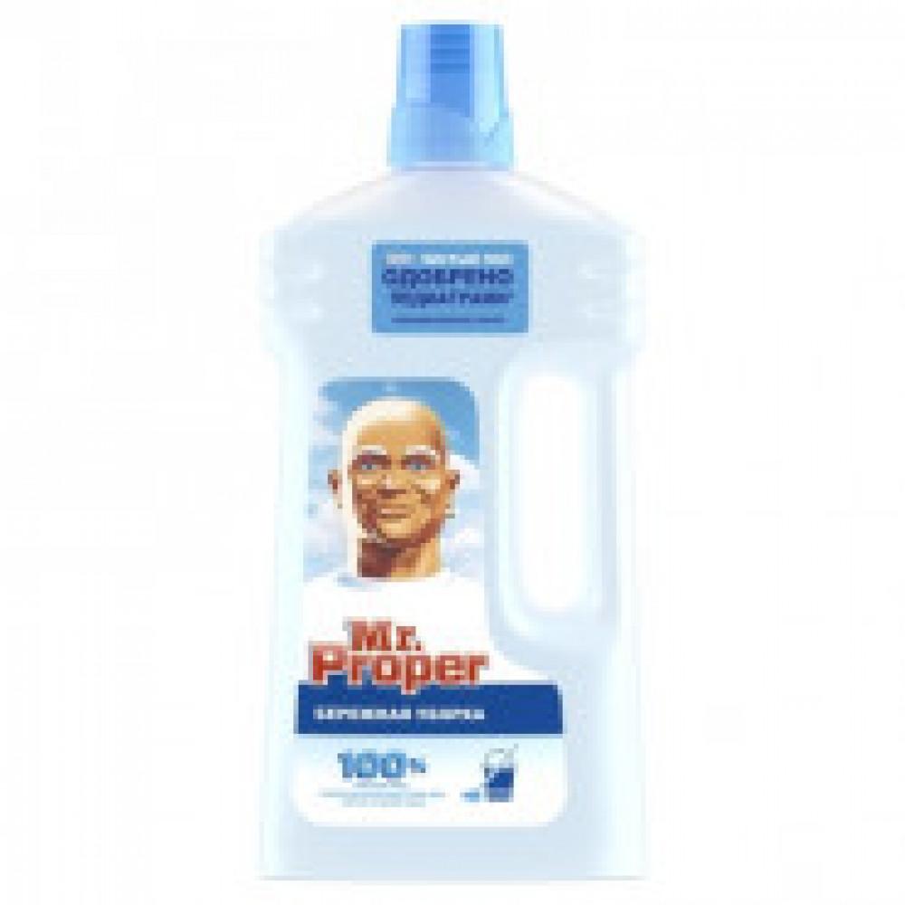 Средство для мытья пола Mr. Proper Бережная уборка 1л