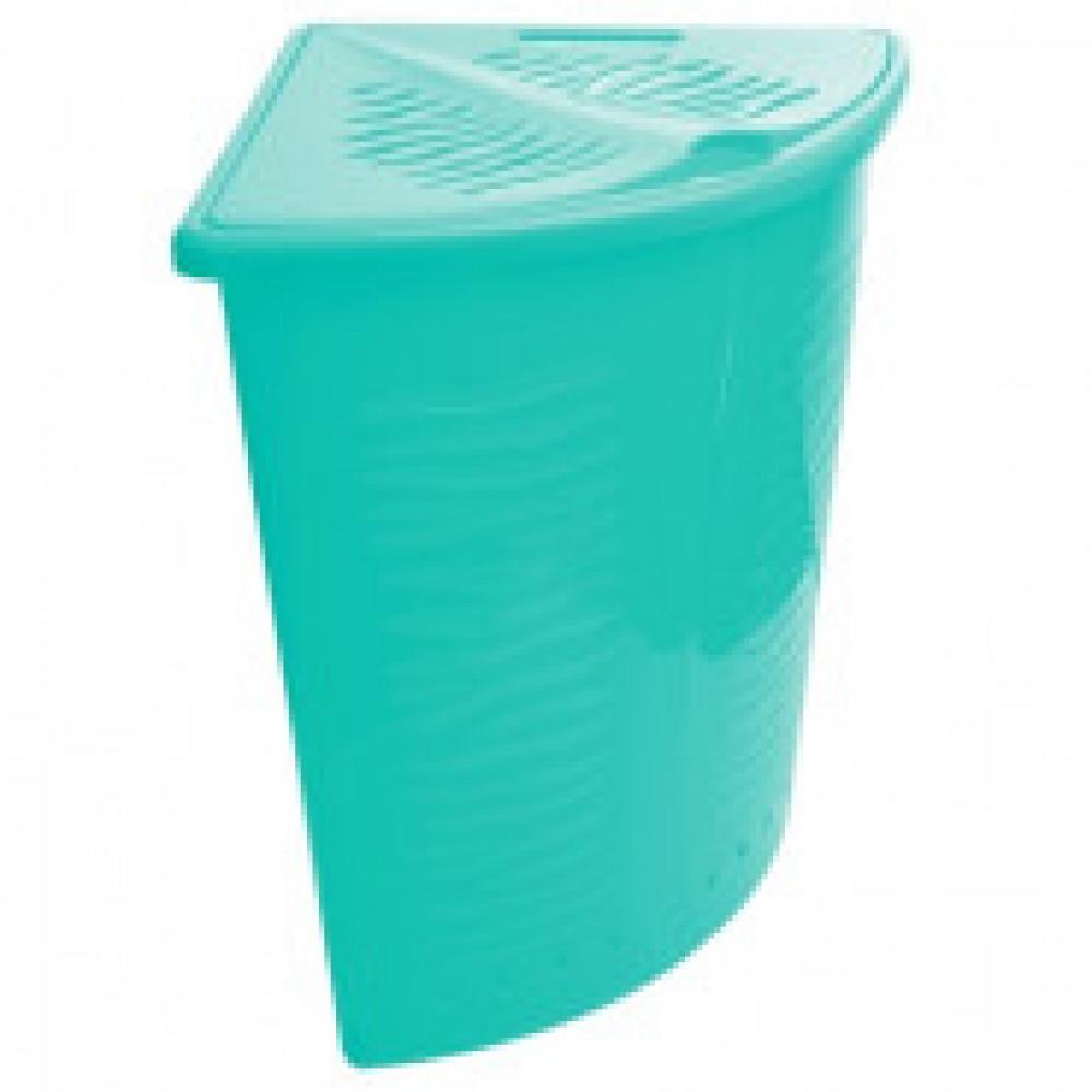 Корзина для белья Aqua 40 л угловая BQ1700 пастельные тона в ассортименте