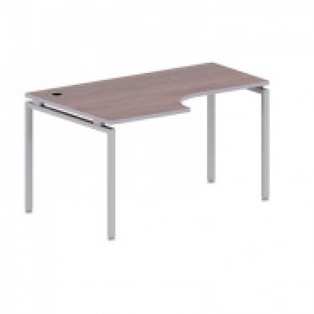 Мебель Easy T Стол лев(870,57,64,70,83) т.дуб(560/720) Ш1400