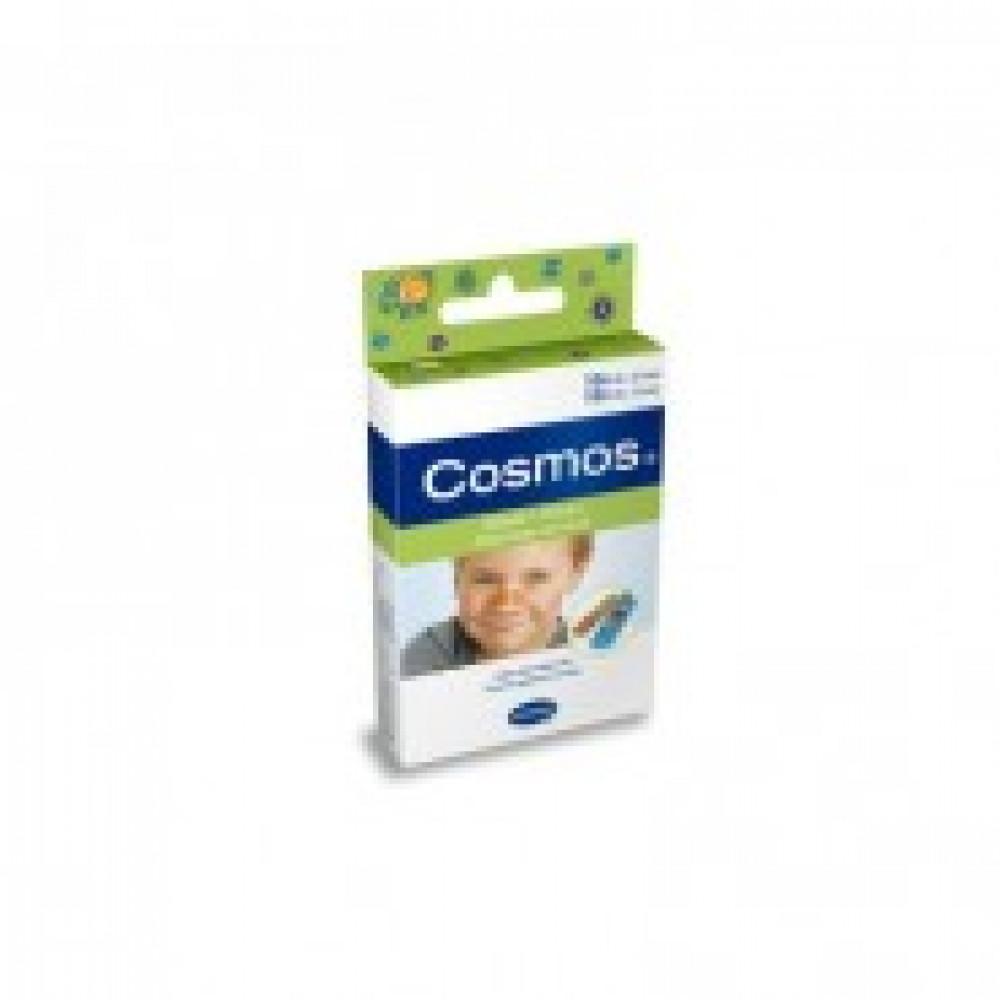 Набор пластырей для детей с рисунком 2 разм, 20 шт/уп COSMOS 5356235