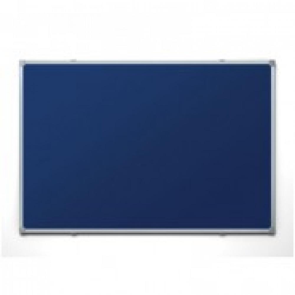 Доска для информации текстильная 60х90 синяя Attache Россия