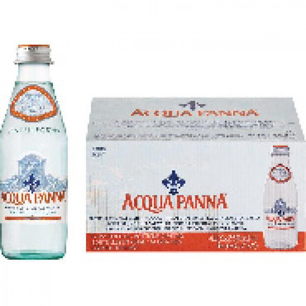Вода минеральная Acqua Panna 0,25 л негаз. стекло 24 шт/уп,322598