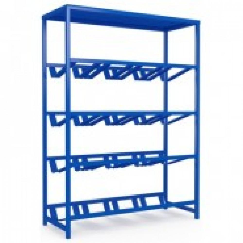 Метал.Мебель KD_Бомис-16П Стеллаж для воды бутилир. на 16 тар