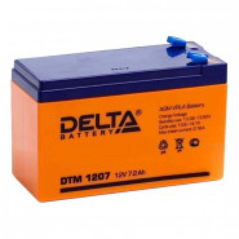 Аккумуляторная батарея Delta DTM 1207 (12V/7,2Ah)