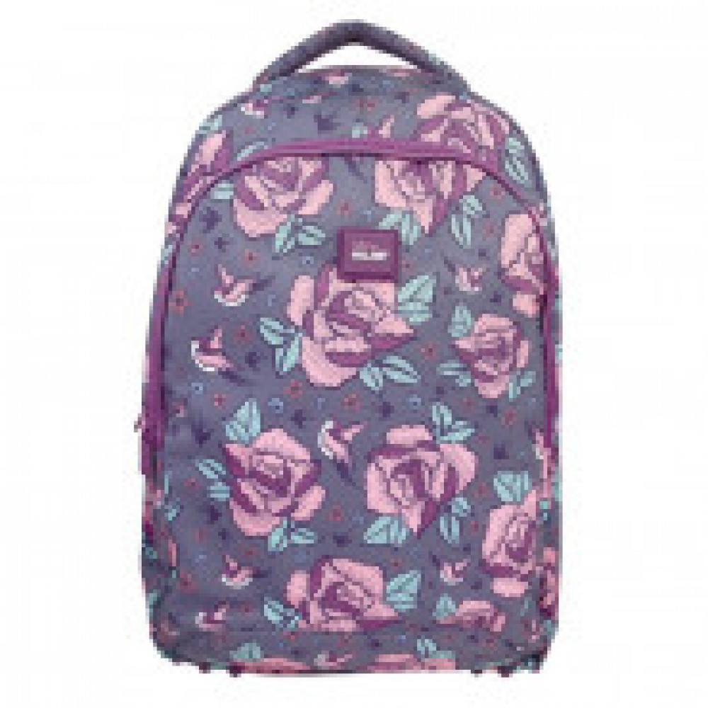 Рюкзак Flowers Pink 45x30x12 см, 17 л., 624601FWP