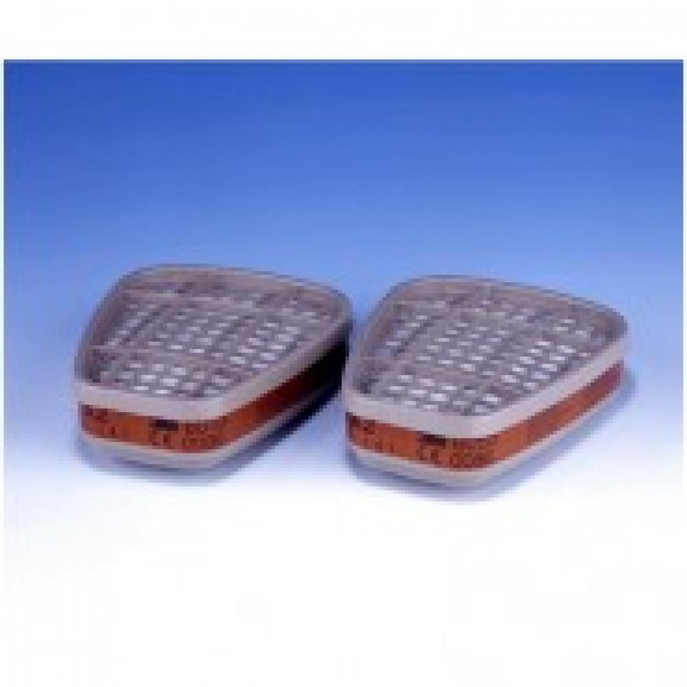 Патрон противогазовый 3М 6055 марка А2 от органических газов (6055)