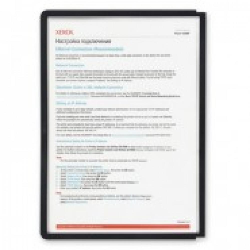 Демо-система Панель DURABLE 5606-01 черная для демо-системы упк/5шт.