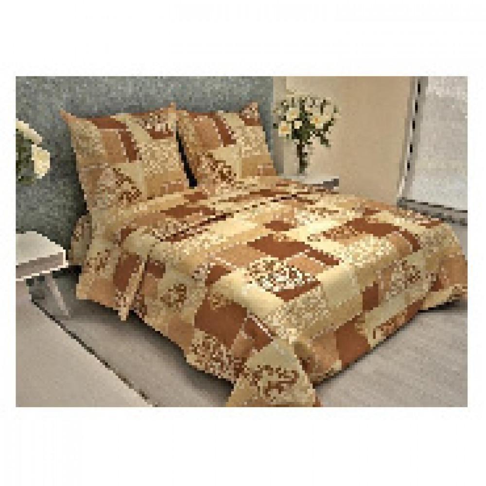 Комплект постельного белья 1,5 сп бязь 105 гр/м2 Везель бежевый