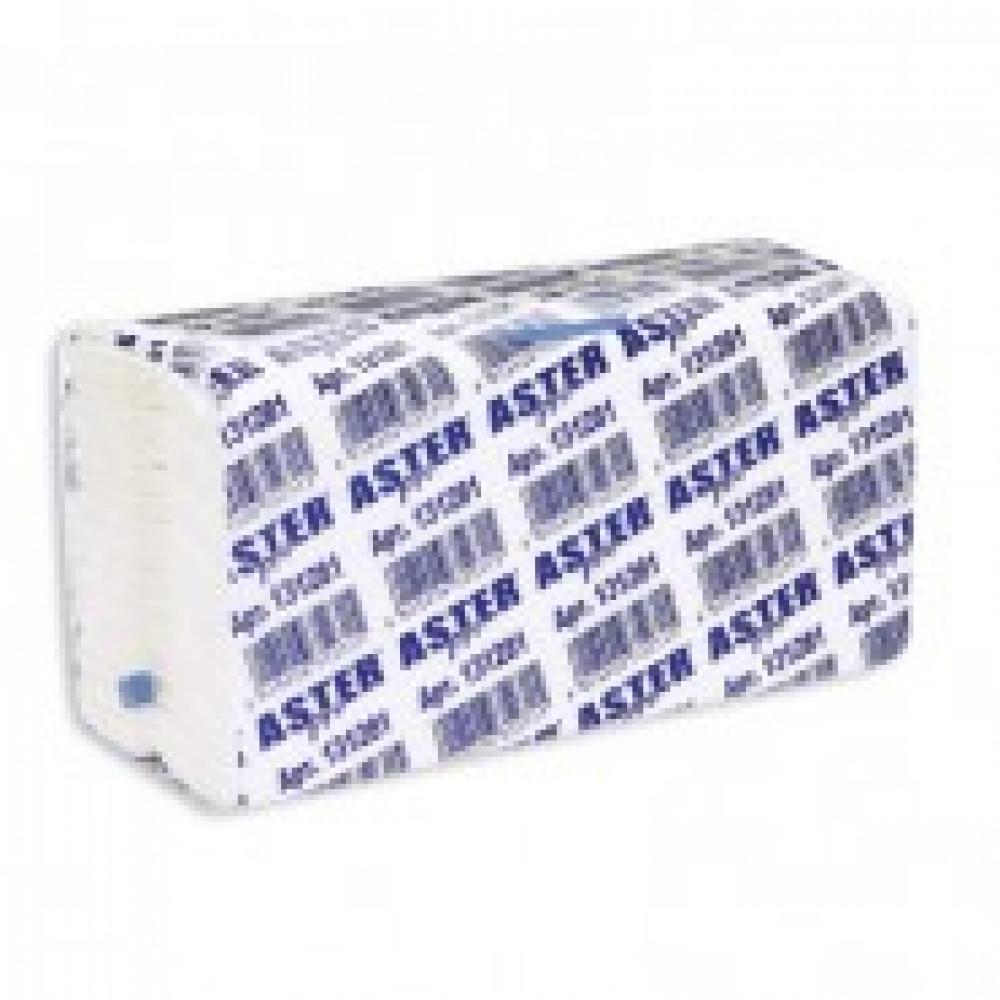 Полотенца бумажные д/держ. ASTER Pro С-слож.131281 153л./уп.