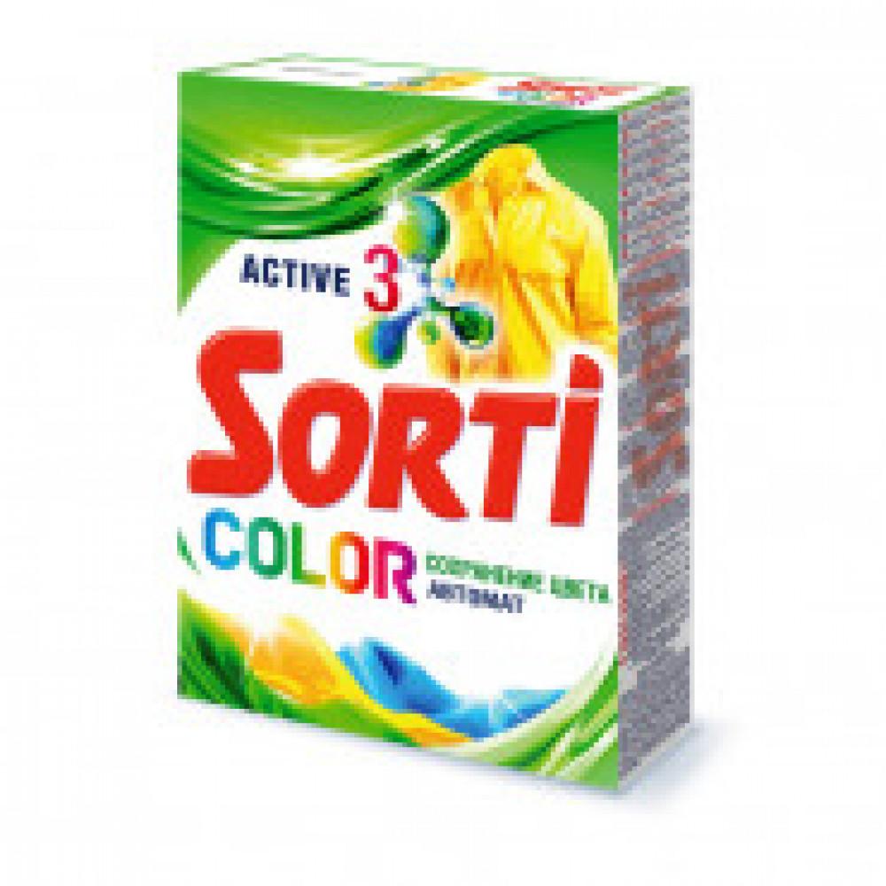 Порошок стиральный Sorti автомат Color 350г
