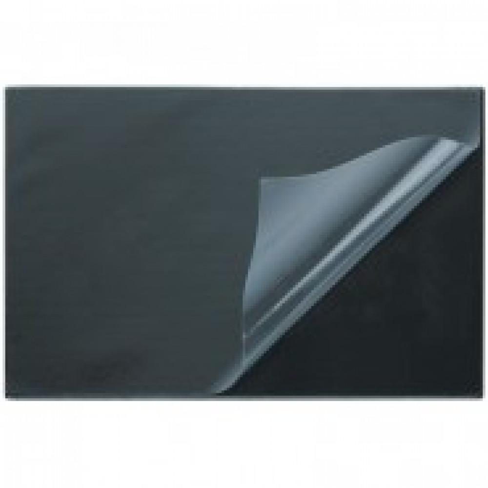 Коврик на стол Attache 38х59см черный с прозрачным листом
