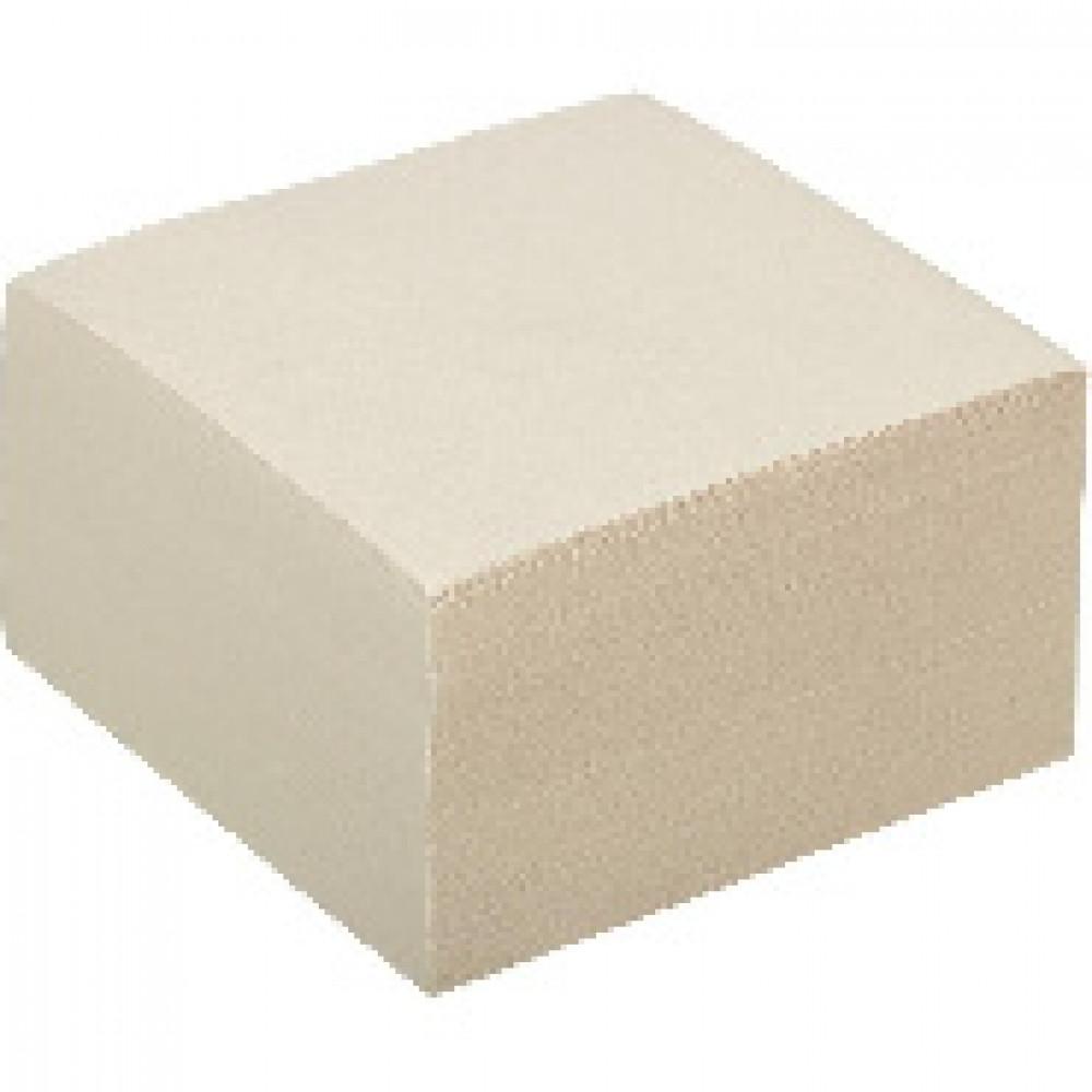 Блок для записей ATTACHE ЭКОНОМ на склейке 9х9х5 белый Т