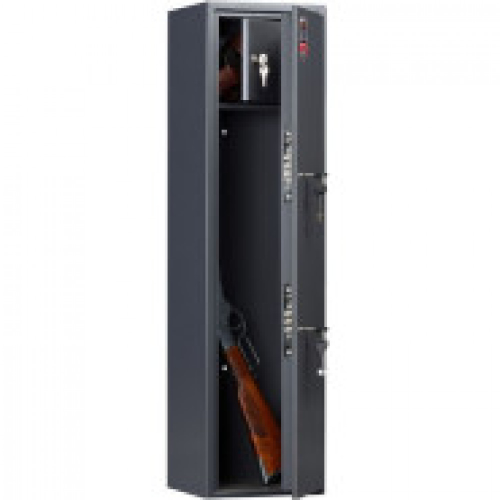 Сейф AIKO  Беркут-1 , оружейный, 2 ствола, 2 ключ.замка