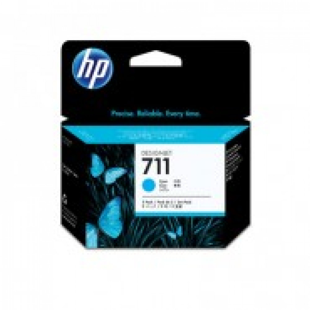 Картридж струйный HP 711 CZ134A голубой оригинальный (тройная упаковка)